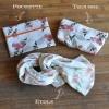 Coffret 3 accessoires Caprice Bougainvillea