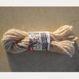 Cordelette laine de mouton
